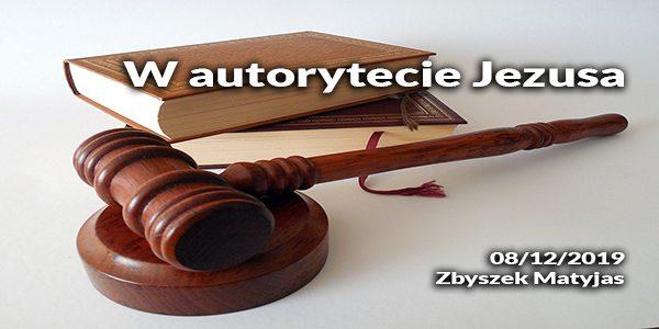 W autorytecie Jezusa
